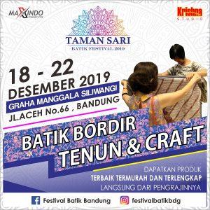 Taman Sari Batik Festival 2019