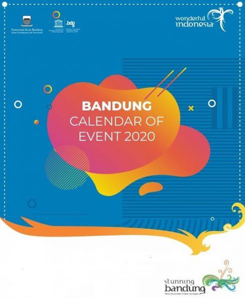 Daftar Event dalam Bandung Calendar of Event 2020