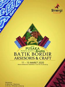 Pusaka Nusantara Batik Bordir Aksesoris & Craft 2020