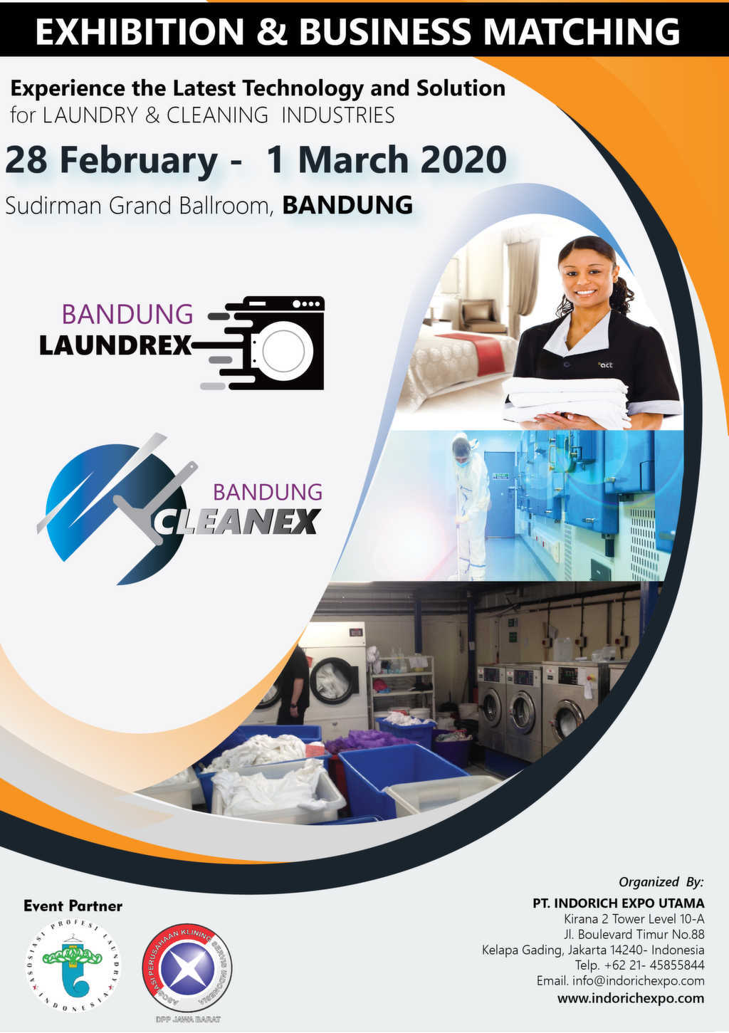 BANDUNG LAUNDREX & CLEANEX EXPO 2020