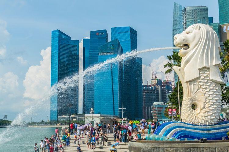 Wajib Karantina, Orang yang Masuk Singapura Diberi Pemantau Elektronik