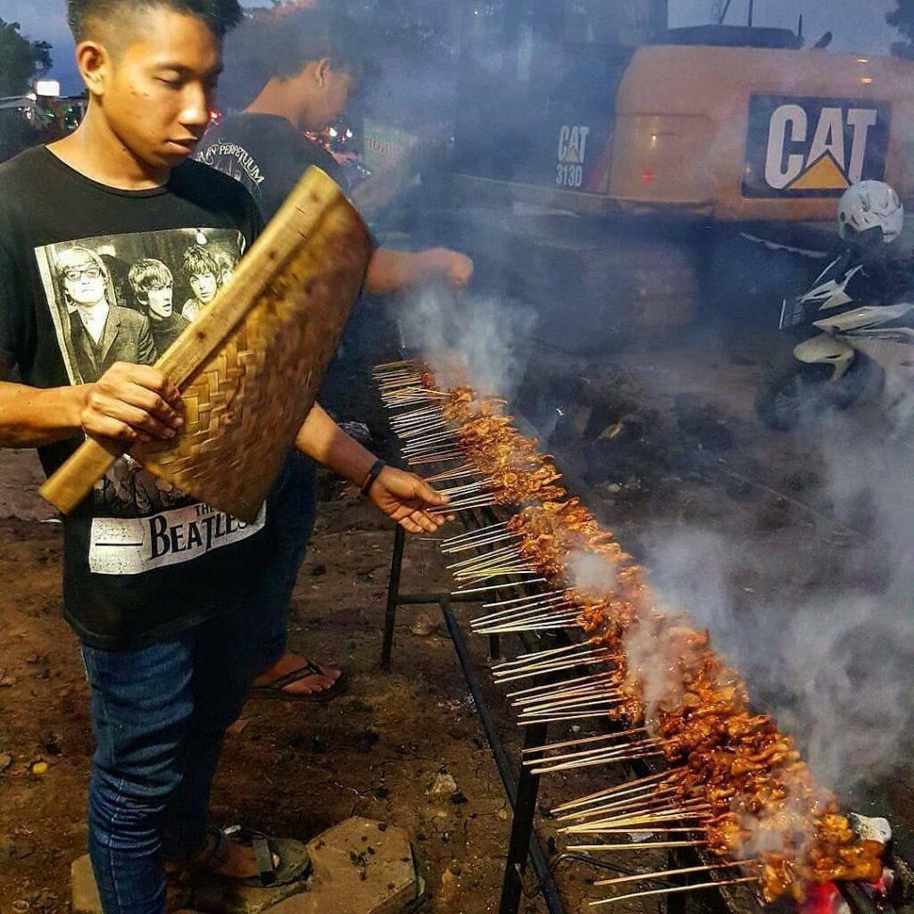 Sate Damri, Kuliner Bandung yang Hits dan Jumbo